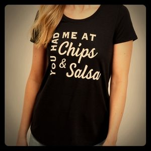 Maurice's Graphic Tee- You Had Me At Chips & Salsa